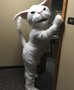 Whitey Cat Homemade Costume