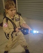 Who you gonna call? Homemade Costume