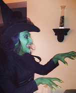 Wicked Witch Homemade Costume