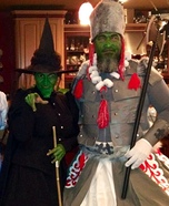 Wicked Witch and her Guard Homemade Costume