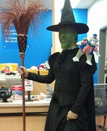 Wicked Witch of the West Homemade Costume