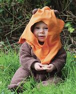 Ewok Baby Costume DIY
