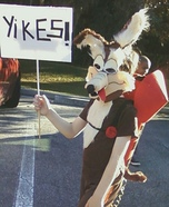 Wile E. Coyote Homemade Costume