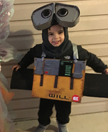 WILL-E Homemade Costume