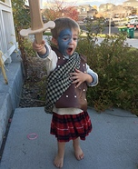 William Wallace Homemade Costume