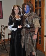 Couples Halloween costume idea: William Wallace and Queen Isabella
