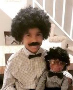 Willie and Lester Homemade Costume