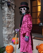 Willy Wonka Homemade Costume