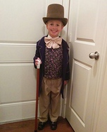 DIY Willy Wonka Boy's Costume