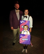 Willy Wonka and the Nerds Homemade Costume