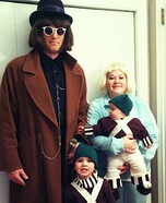 Willy Wonka Family Halloween Costume