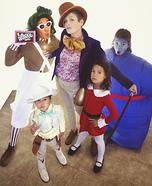 Willy Wonka Family Homemade Costume