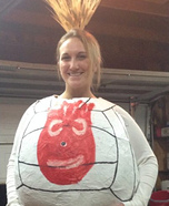 Wilson from Cast Away Homemade Costume