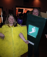 Wine and Cheese Homemade Costume
