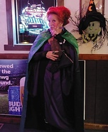 Winnie from Hocus Pocus Homemade Costume