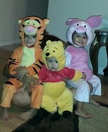 Winnie the Pooh and Friends Costumes