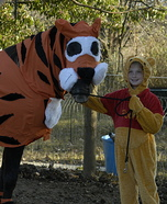 Winnie the Pooh and Tigger Too Halloween Costumes