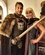 Winter is Coming Homemade Costume