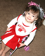 Wisconsin Cheerleader Costume