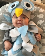 Wise Baby Owl Homemade Costume