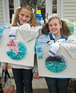 Wishy Washers costume for girls