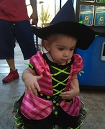 Witch Baby Girl's Costume