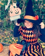 Witch Child's Costume