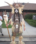 Creative Witch Doctor Costume