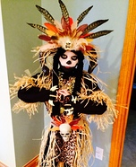 Witch Doctor Homemade Costume