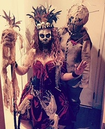 Witch Doctor and Voodoo Doll Costume
