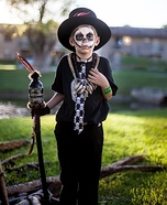 Witch Doctor Boy's Homemade Costume