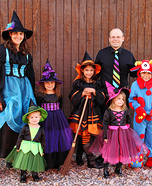 Witch Family Halloween Costumes