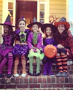 Witch Family Homemade Costume