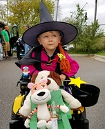 Witch from Room on the Broom Homemade Costume