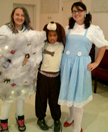 Dorothy, Toto, and the Tornado Costumes