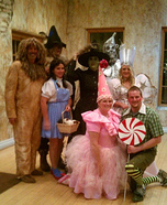 Wizard of Oz Group Halloween Costume Ideas