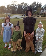 Wizard of Oz Homemade Costume