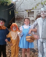 Wizard of Oz Kids Halloween Costume
