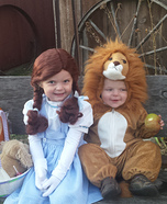Wizard of Oz Kids Halloween Costumes