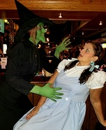 Wizard of Oz Dorothy and Wicked Witch Costume