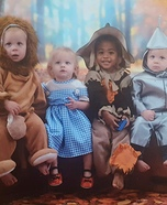Wizard of Oz Babies Costume