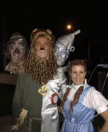 Wizard of Oz Couple Homemade Costume