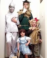 Wizard of Oz Family Homemade Costume