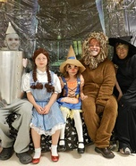 Wizard of Oz Family Homemade Costume