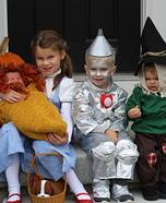 Wizard of Oz Kids Homemade Costume