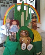 Wizard of Oz Lion Baby Homemade Costume