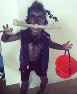 Wolfman Homemade Costume