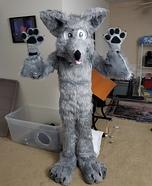 Wolfy Homemade Costume