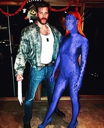 Wolverine and Mystique Homemade Costume