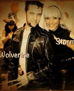 X-Men Wolverine and Storm Costume